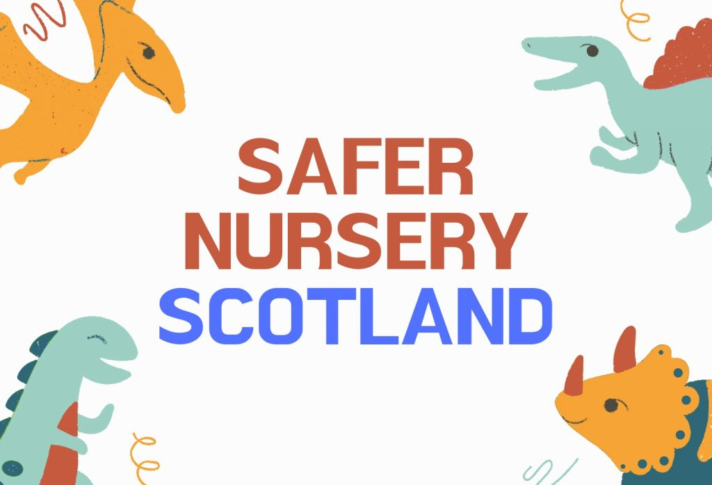 Safer Nursery - Scotland Banner